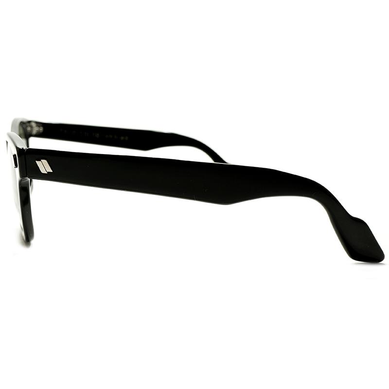 7b6776f75 1950s-1960s AMERICAN OPTICAL EARLY SUNGLASS MODEL WAYFARER STYLE BLACK